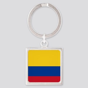 national flag of colombia Keychains