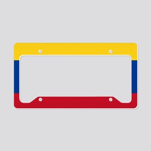 national flag of colombia License Plate Holder