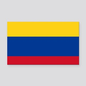 national flag of colombia Rectangle Car Magnet