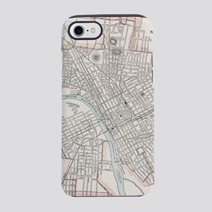 Vintage Map of Nashville Ten iPhone 8/7 Tough Case