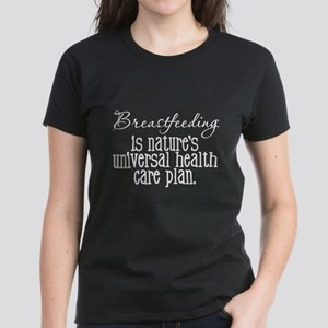 Proud Breast Feeding Women's Dark T-Shirt