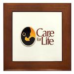 Care for Life Logo Framed Tile