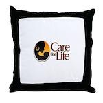 Care for Life Logo Throw Pillow