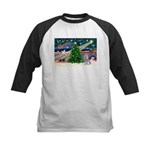 Xmas Magic / Skye Terri Kids Baseball Jersey