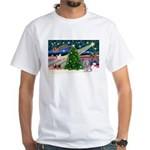 Xmas Magic / Skye Terri White T-Shirt