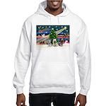 Xmas Magic & Skye Trio Hooded Sweatshirt