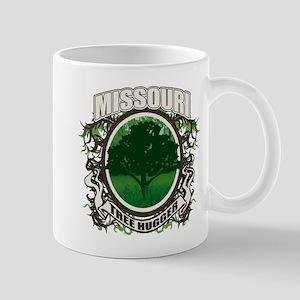 Tree Hugger Missouri Mug