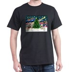 Xmas Magic & Skye Terrier Dark T-Shirt