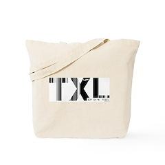 Berlin Tegel Airport Code Germany TXL Tote Bag