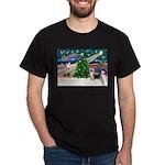 Xmas Magic & Silk Ter Dark T-Shirt