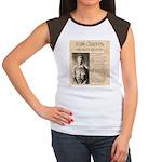 Tom Custer Women's Cap Sleeve T-Shirt