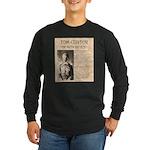 Tom Custer Long Sleeve Dark T-Shirt