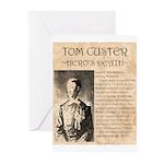 Tom Custer Greeting Cards (Pk of 20)