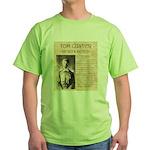 Tom Custer Green T-Shirt