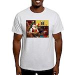 Santa's Silky Terrier Light T-Shirt