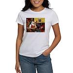 Santa's Silky Terrier Women's T-Shirt