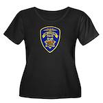 San Leandro Police Women's Plus Size Scoop Neck Da