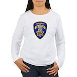 San Leandro Police Women's Long Sleeve T-Shirt