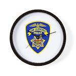 San Leandro Police Wall Clock