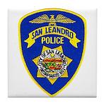 San Leandro Police Tile Coaster