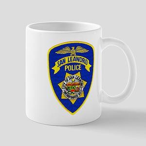 San Leandro Police Mug