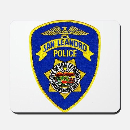 San Leandro Police Mousepad