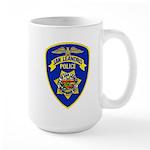 San Leandro Police Large Mug