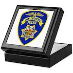 San Leandro Police Keepsake Box