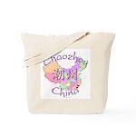 Chaozhou China Map Tote Bag