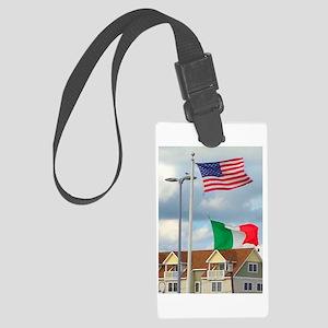 Italian American Homage Luggage Tag