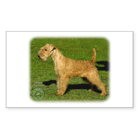 Lakeland Terrier 9P002D-026 Sticker (Rectangle)