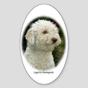 Lagotto Romagnollo 9M048D-18 Sticker (Oval)