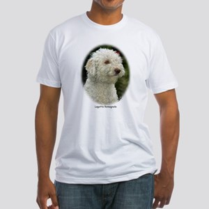 Lagotto Romagnollo 9M048D-18 Fitted T-Shirt