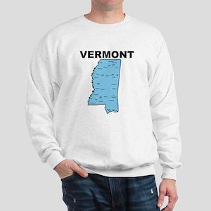 Vermont, Mississippi Sweatshirt