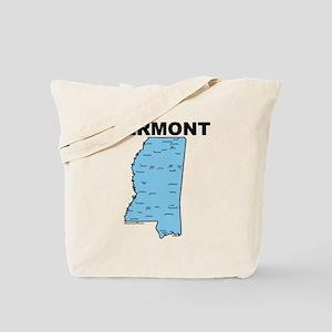 Vermont, Mississippi Tote Bag