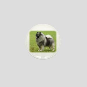 Keeshond 9J28D-01 Mini Button