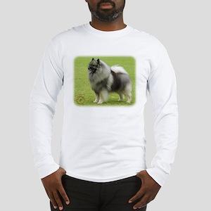 Keeshond 9J28D-01 Long Sleeve T-Shirt