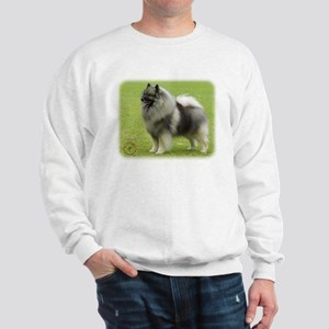 Keeshond 9J28D-01 Sweatshirt