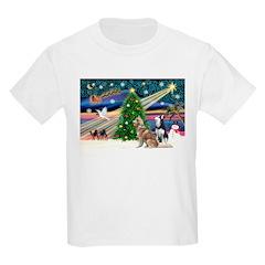 Xmas Magic & S Husky T-Shirt