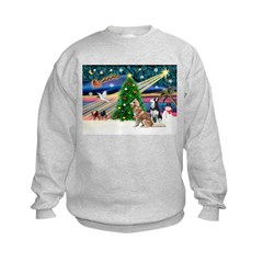 Xmas Magic & S Husky Sweatshirt