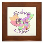 Foshan China Map Framed Tile