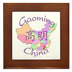 Gaoming China Map Framed Tile