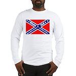 Dixie Yid Confederate Flag Long Sleeve T-Shirt