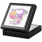 Jiangcheng China Map Keepsake Box