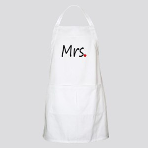 Mrs (Red Heart) BBQ Apron