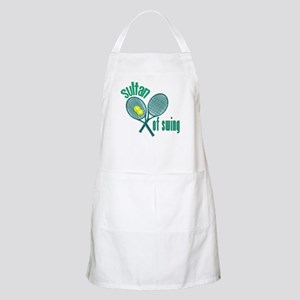 Crossed Tennis Rackets BBQ Apron