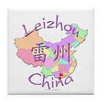 Leizhou China Map Tile Coaster