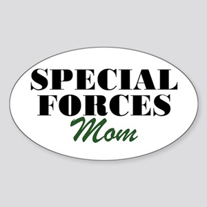 Special Forces Mom Oval Sticker