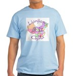 Lianjiang China Map Light T-Shirt