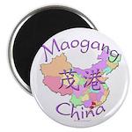 Maogang China Map Magnet